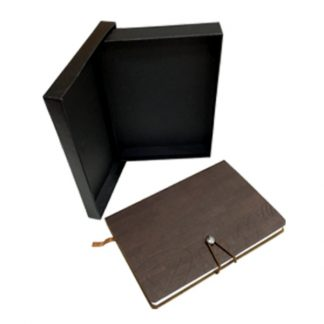 ORN0220 PU Note Book with Black Box