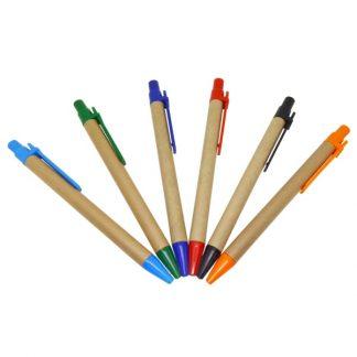 PEN0512 PEN Recycle Pen with Coloured Clip