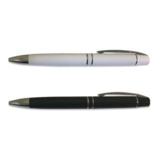 PEN0542 Metal Ball Pen with Silver Clip & Tip