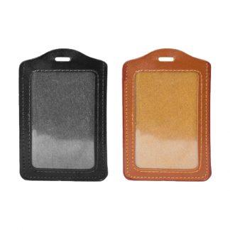 STA0686 PU ID Card Holder – Portrait