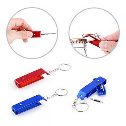 TT0320 Mini Tool Kit with Bottle Opener Keychain