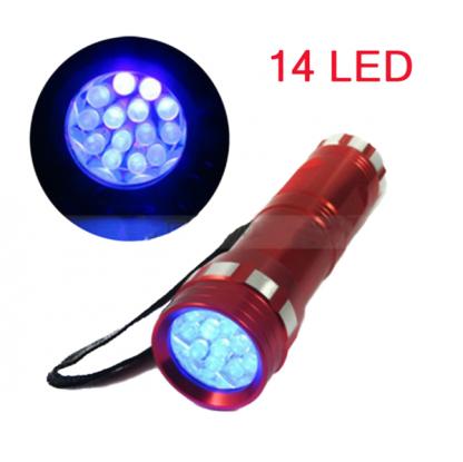TT0326 Super Bright 14 LED Aluminum Flashlight