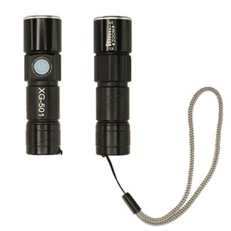 TT0328 Torchlight with USB Rechargeable Battery & Strap
