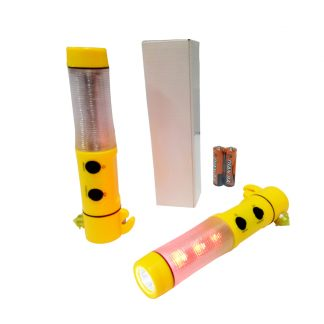 TT0339 5-in-1 Plastic Safety Torchlight