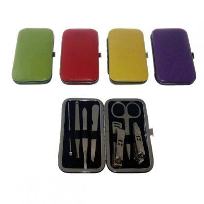 TT0358 - 7 piece Manicure Set in Solid Colours