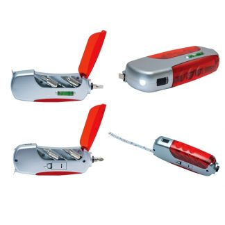 TT0387 LED Torchlight & Screwdriver Tool Set