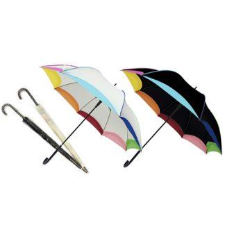 UMB0007 Rainbow Umbrella with Sleeve