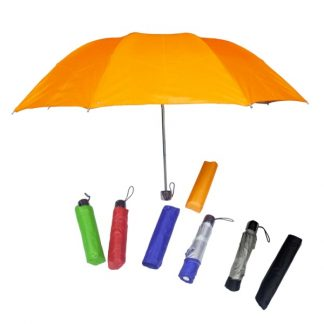 "UMB0037 - 21"" 3-Fold Nylon Umbrella"