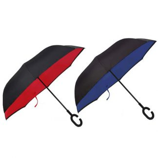 UMB0078 Reversible Umbrella with C Handle
