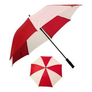"UMB0106 - 30"" Taffera Umbrella with Straight Handle - Red"