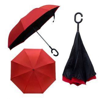 UMB0110 – 23″ Double Layer Inverted Umbrella
