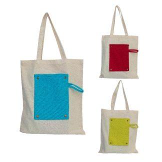 BG1029 - 5oz Foldable Canvas Shopping Bag