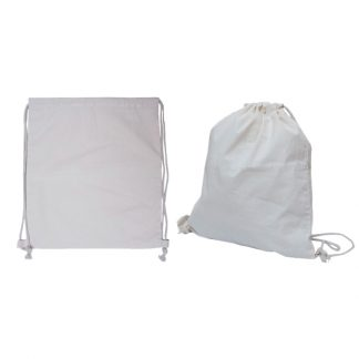 BG1031 - 6oz Canvas Drawstring Bag