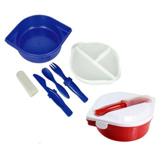 LSP0670 Lunchbox with Cutlery Set