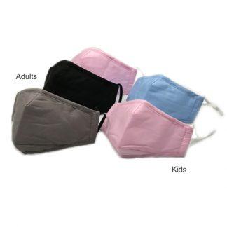 LSP0676 Reusable Cotton Face Mask (Adults/Kids)