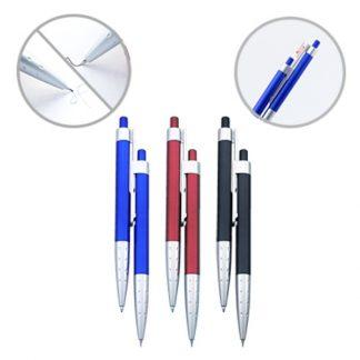 PEN0534 Plastic Pen & Mechanical Pencil Twin Set