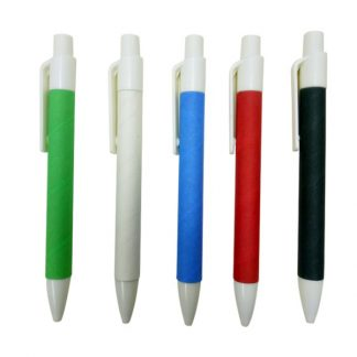PEN0548 Recycled Pen with White Clip