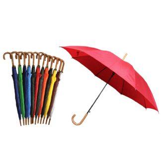 UMB0001 Regular Solid Auto Open Umbrella