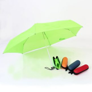 UMB0035 Foldable Umbrella with EVA Hard Capsule Casing Pouch