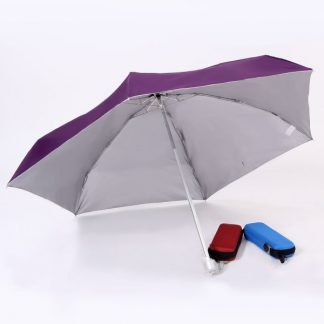 UMB0071 Slim Foldable Umbrella with Hard EVA Flat Casing