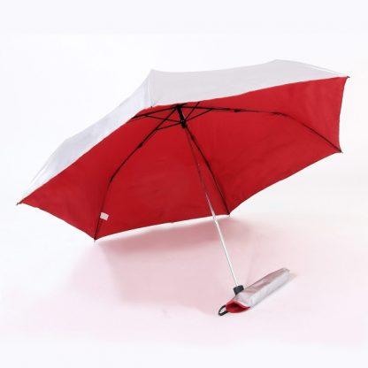 UMB0072 Rubber Handle Foldable Slim Umbrella