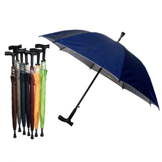 UMB0081 Walking Stick UV Auto Open Umbrella