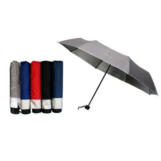 UMB0086 Silver Coated Standard Foldable Umbrella