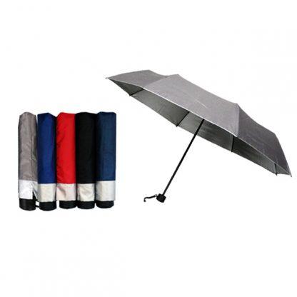 UMB0086 Silver Coated Standard Foldable Umbrella