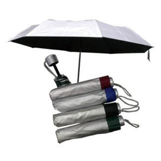 UMB0087 Silver Coated Standard Foldable Umbrella