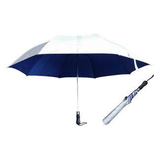 UMB0121 - 30″ 2 Fold Golf UV Auto Open Umbrella