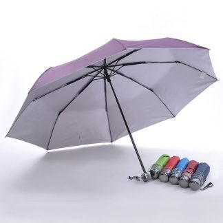UMB0132 - 3 Fold Windproof UV Foldable Umbrella