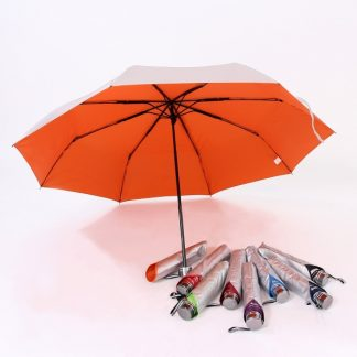 UMB0133 - 3 Fold Windproof UV Foldable Umbrella