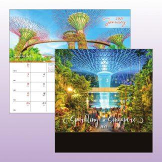 CLD0023 Wire-O Desk Calendar