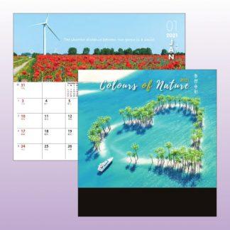 CLD0024 Wire-O Desk Calendar