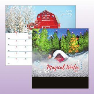 CLD0025 Wire-O Desk Calendar