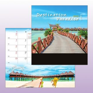 CLD0026 Wire-O Desk Calendar