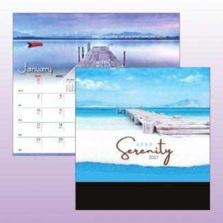 CLD0028 Wire-O Desk Calendar