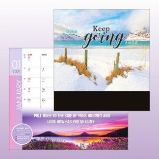 CLD0035 Wire-O Desk Calendar