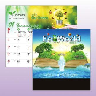CLD0043 Wire-O Desk Calendar