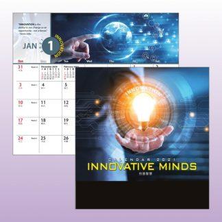 CLD0044 Wire-O Desk Calendar
