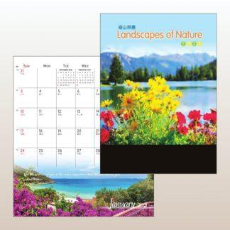 CLD0060 Wire-O Desk Calendar