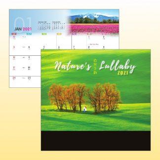 CLD0078 Wire-O Desk Calendar
